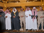 متعب بن عبدالله يؤدي صلاة الميت على الشهيدين الشهري و الطوب2