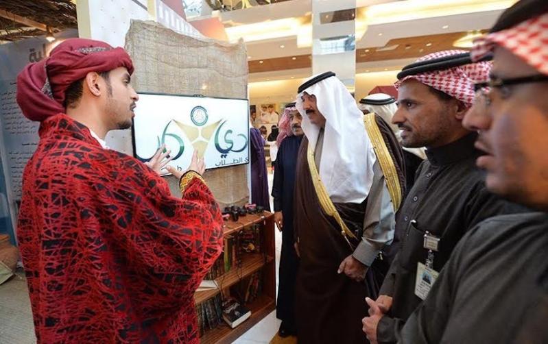 متعب بن عبدالله يفاجئ طلاب الصحية بحضور ختام فعاليات برنامج ثقافي 14
