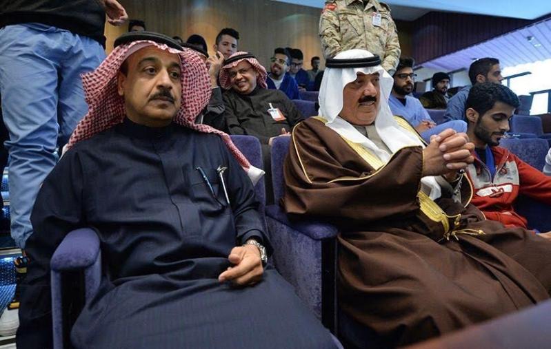 متعب بن عبدالله يفاجئ طلاب الصحية بحضور ختام فعاليات برنامج ثقافي 6