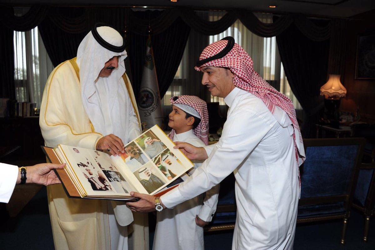 متعب بن عبد الله يحقق أمنية طفل رغب مقابلته (5)