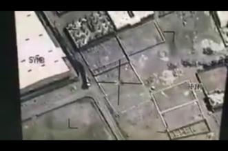 شاهد.. لحظة قصف الحوثي صالح الصماد - المواطن