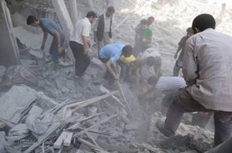 المرصد السوري: طائرات الأسد وروسيا تستهدف 11 حياً بمدينة حلب - المواطن