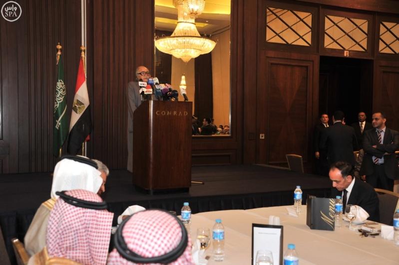 مجلس الأعمال السعودي المصري يعقد اجتماعا له بالقاهرة (1)