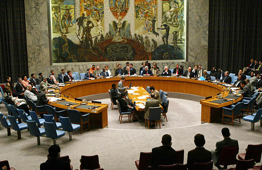 مجلس الامن الدولي