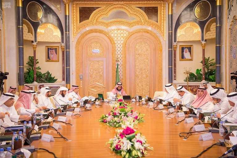 مجلس الشؤون الاقتصادية يناقش موضوعات تنموية برئاسة ولي ولي العهد