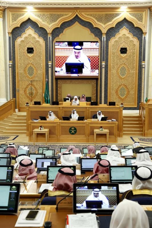 مجلس الشورى يعقد جلسته العادية الخامسة والخمسين (واس) 28-12-1436 هـ 4