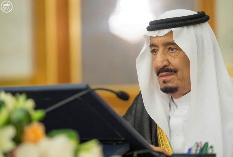 مجلس الوزراء برئاسة الملك سلمان (4)