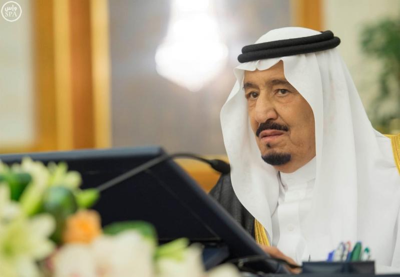 مجلس الوزراء برئاسة الملك سلمان (7)