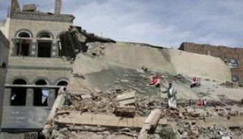 مجهولون يُفجرون مبنى الأمن بمحافظة الحج اليمية