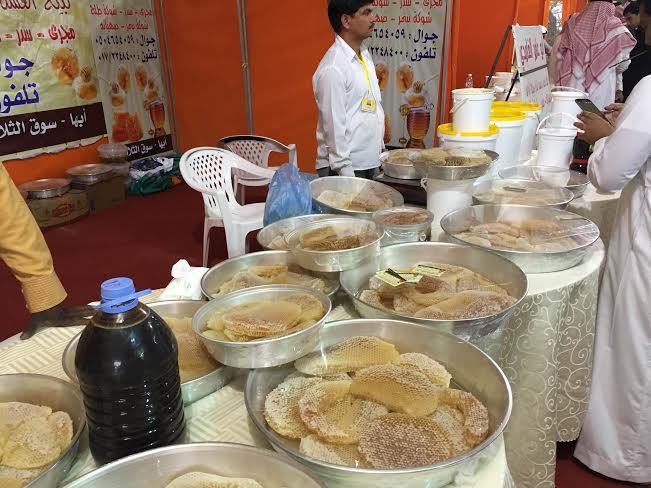 محافظ العُرضيات يفتتح فعاليات وبرامج مهرجان العسل الرابع1