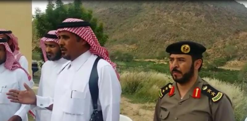 محافظ سراة عبيدة محمد بن سعيد بن جزوا