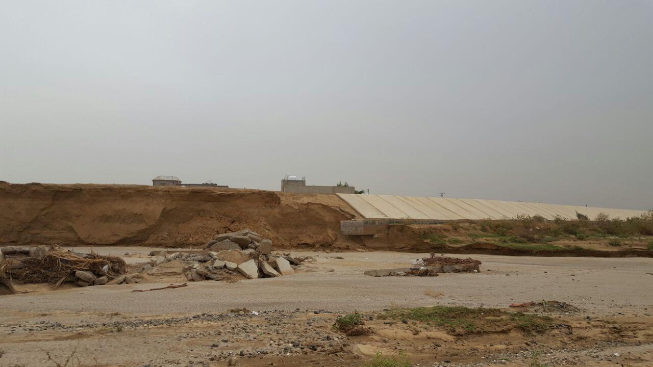 محافظ صبيا يتابع وضع سد حماية الحسينية والكدمي
