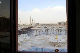"""بالصور.. محطة تبريد المسجد النبوي """"تُلطف الأجواء لراحة المصلين والزوار"""" - المواطن"""