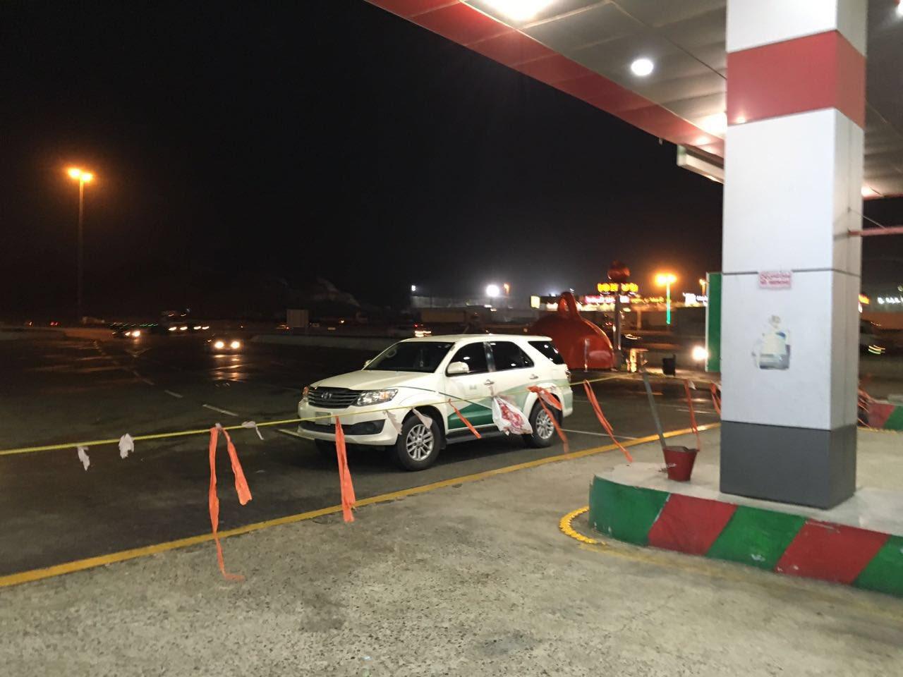 محطة غش وتلاعب بالوقود بجدة (2)