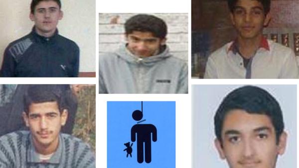 محكوم عليهم بالاعدام في ايران