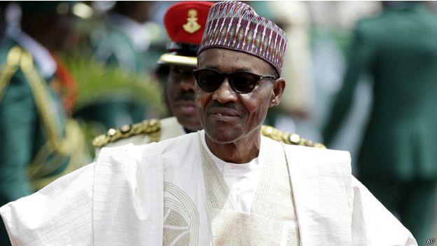 الرئيس النيجيري يؤدي اليمين لفترة ثانية