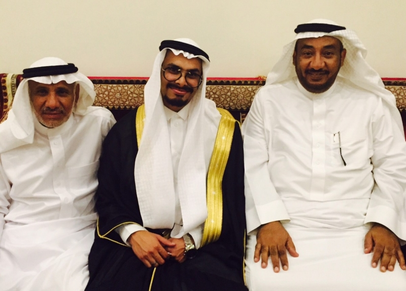 محمد-احمد-الغريبي-يحتفل-بعقد-قران-ابنته