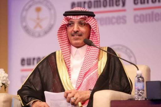 ملفات على طاولة وزير المالية السعودي محمد الجدعان