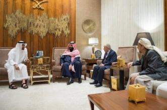 لقاء ولي العهد ومحمد بن زايد مع العقيد اليدومي .. بدء الترتيب لمرحلة ما بعد الحوثيين - المواطن