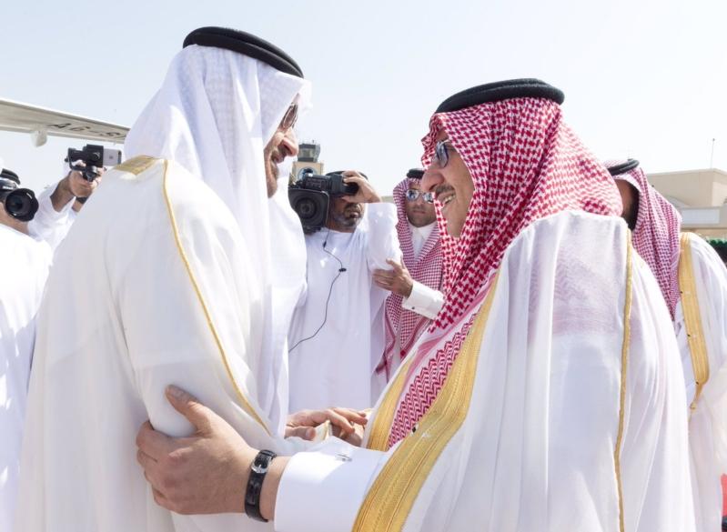 محمد بن زايد يصل الرياض
