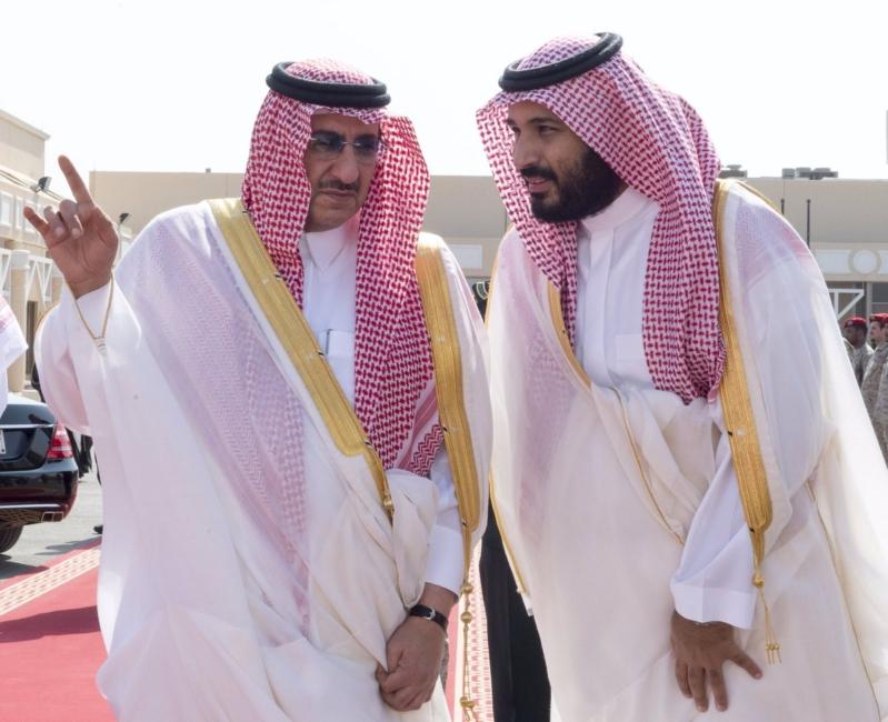 محمد بن زايد يصل الرياض1