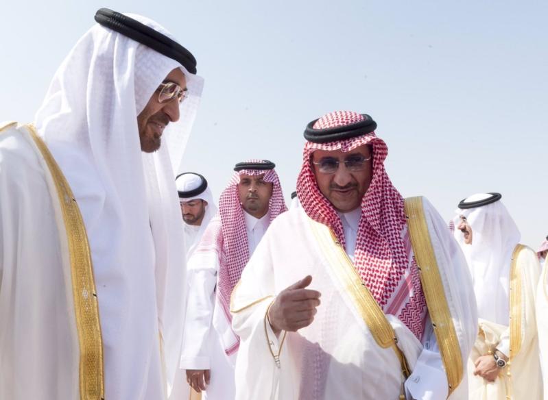 محمد بن زايد يصل الرياض3