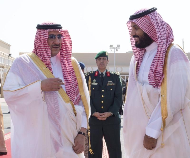 محمد بن زايد يصل الرياض4