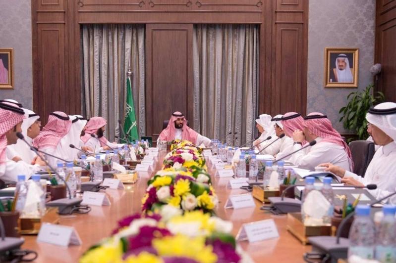 محمد بن سلمان اجتماع مجلس الرؤية السعودية