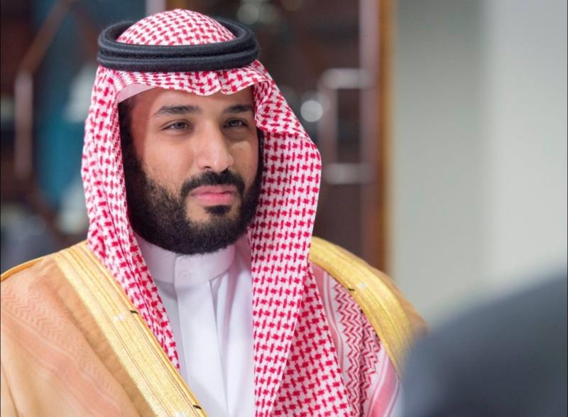 محمد بن سلمان في اجتماع مع معالي وزير الدفاع الأمريكي (781678684) 