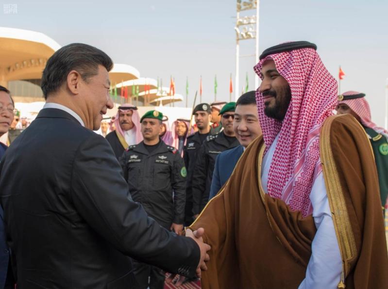 محمد بن سلمان في الصين