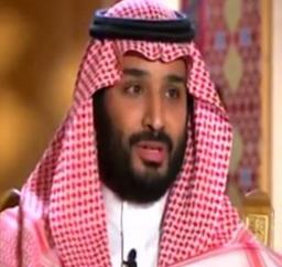 محمد بن سلمان في لقاء للعربية