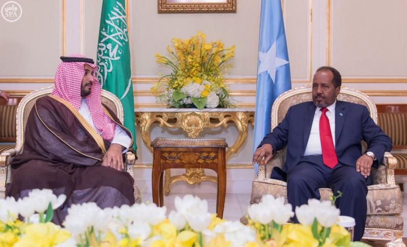 محمد-بن-سلمان-والرئيس-الصومالي