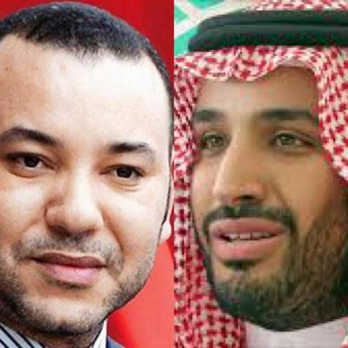 محمد بن سلمان وملك المغرب