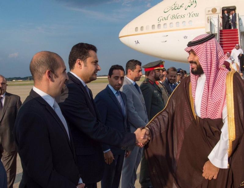 محمد بن سلمان يرأس وفد المملكة في اجتماعات التحالف الدولي بواشنطن (1)