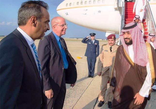 محمد بن سلمان يرأس وفد المملكة في اجتماعات التحالف الدولي بواشنطن (2)