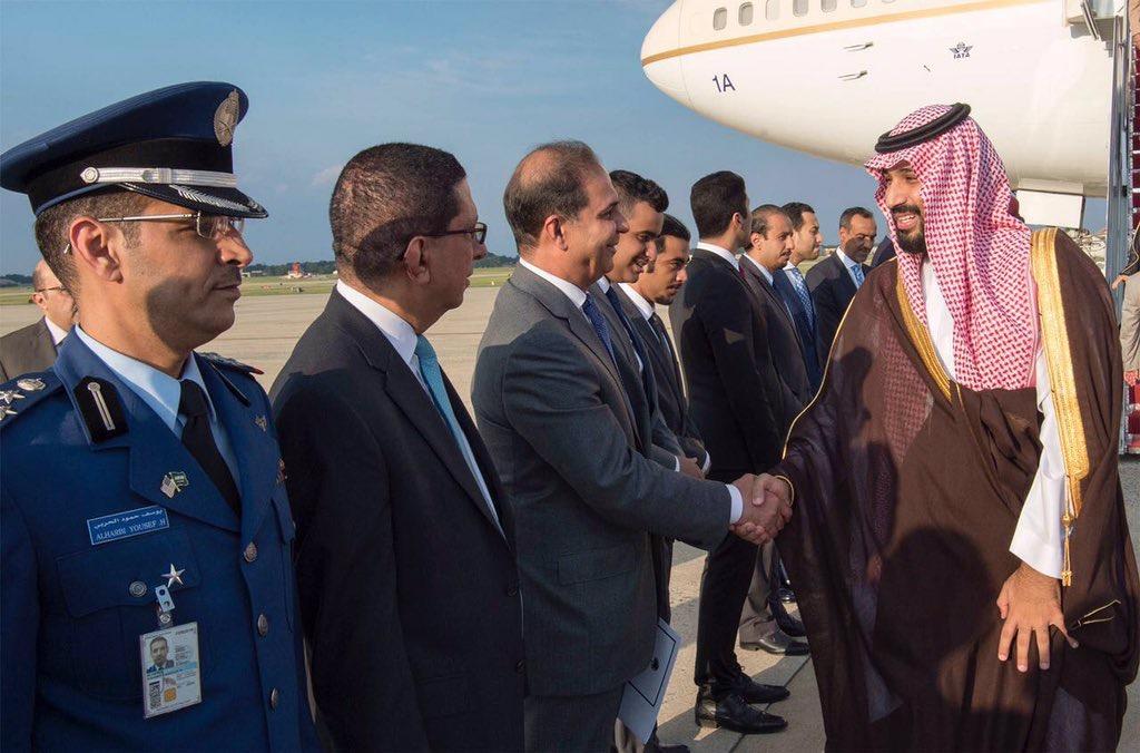 محمد بن سلمان يرأس وفد المملكة في اجتماعات التحالف الدولي بواشنطن (4)