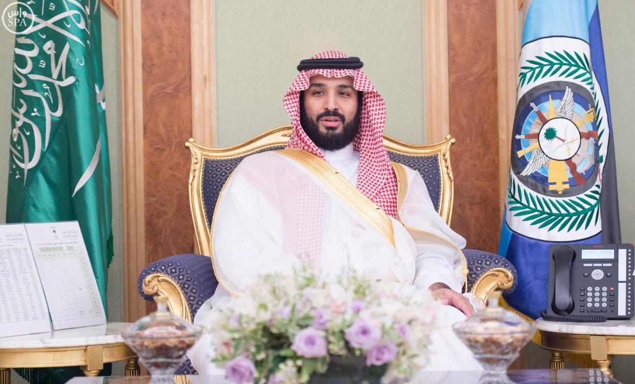 محمد بن سلمان يستقبل كبار القادة والمسئولين في وزارة الدفاع بمناسبة عيد الفطر (9)