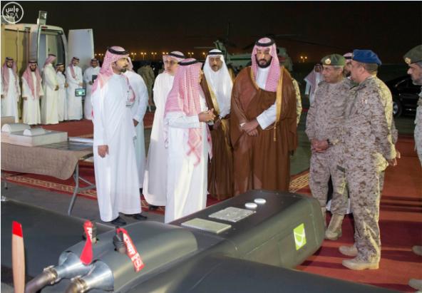 محمد بن سلمان يطلع على مشروع سعودي لتصميم وإنتاج طائرة بدون طيار