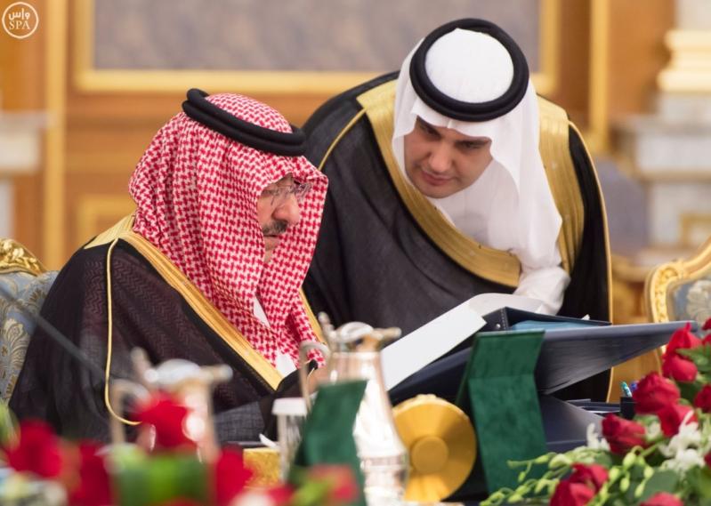 محمد بن نايف مجلس الوزراء