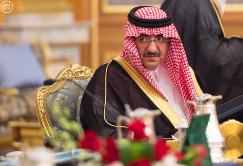 محمد بن نايف مجلس الوزراء4