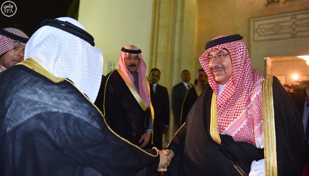 محمد بن نايف ولي العهد يستقبل خمسة وزراء داخلية بتونس (1)