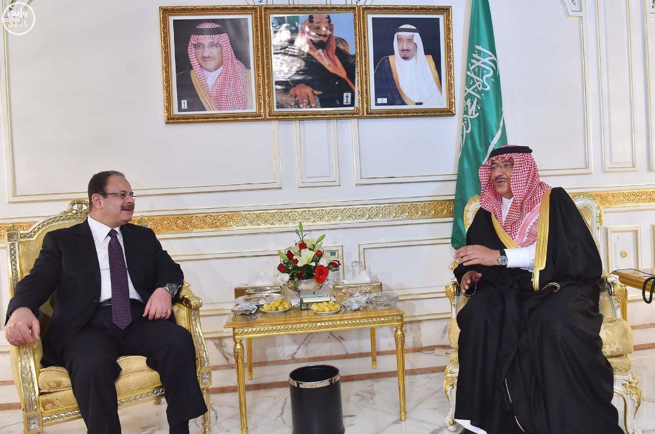 محمد بن نايف ولي العهد يستقبل خمسة وزراء داخلية بتونس (2)