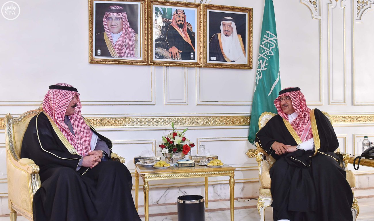 محمد بن نايف ولي العهد يستقبل خمسة وزراء داخلية بتونس (3)