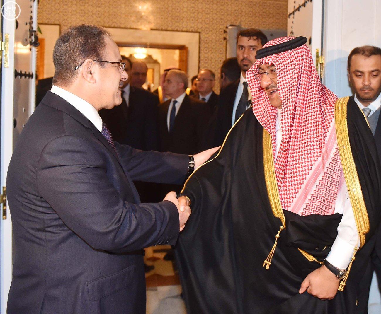 محمد بن نايف ولي العهد يستقبل خمسة وزراء داخلية بتونس (4)