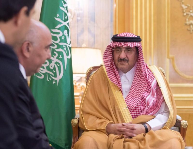محمد بن نايف يتسلم رسالة للملك من رئيس تركمانستان