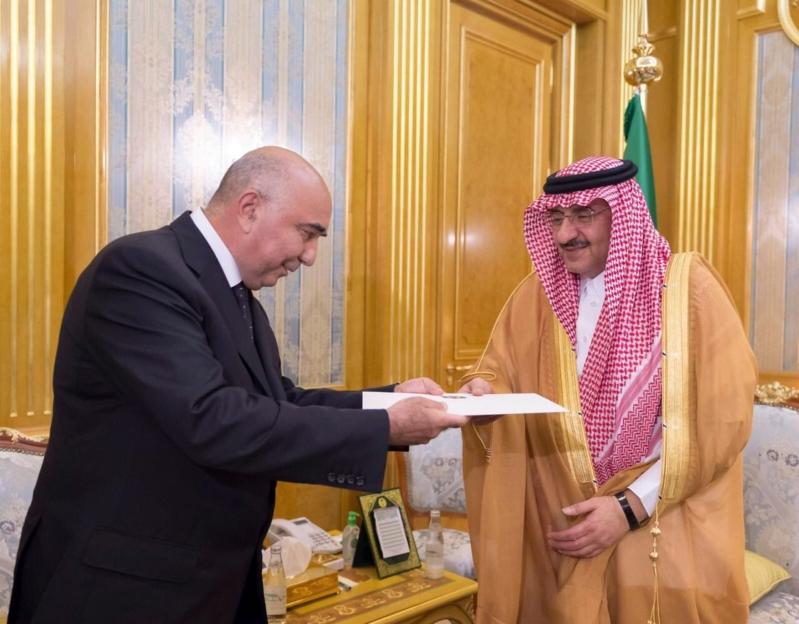 محمد بن نايف يتسلم رسالة للملك من رئيس تركمانستان  2