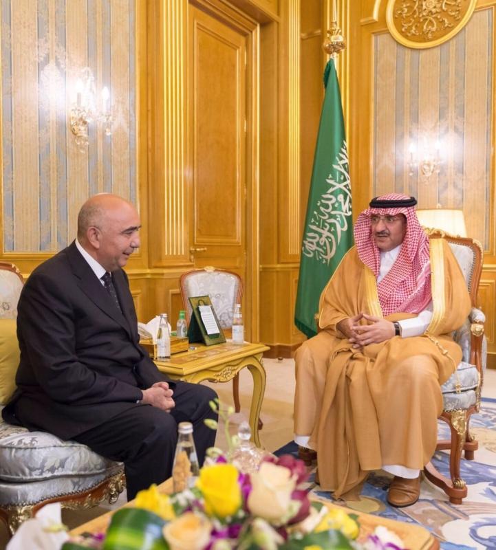 محمد بن نايف يتسلم رسالة للملك من رئيس تركمانستان 3