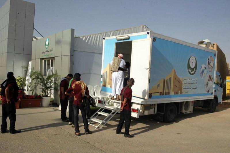 أمانة #الرياض تخصص مختبراً صحياً لإصدار الشهادات الصحية في الجنادرية
