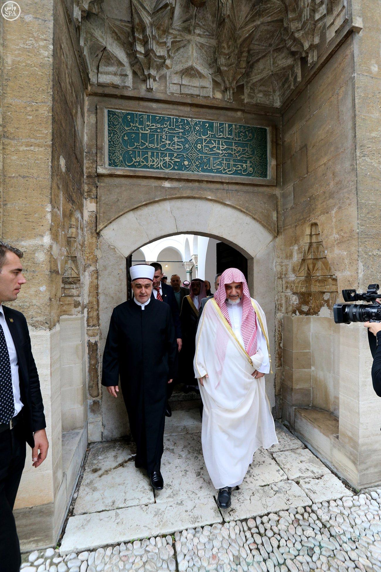 مخططات جامعة خسرو بك بالبوسنة تستوقف آل الشيخ (7)