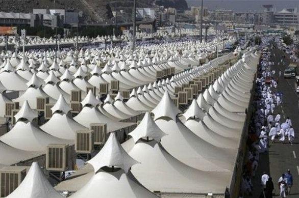 مخيمات الحجاج